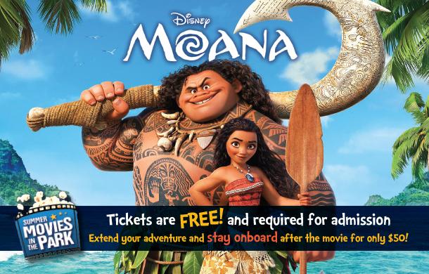 summer movie night moana uss midway museum