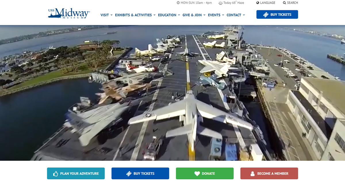 USS Midway Aircraft Carrier | San Diego Museum | San Diego Tours