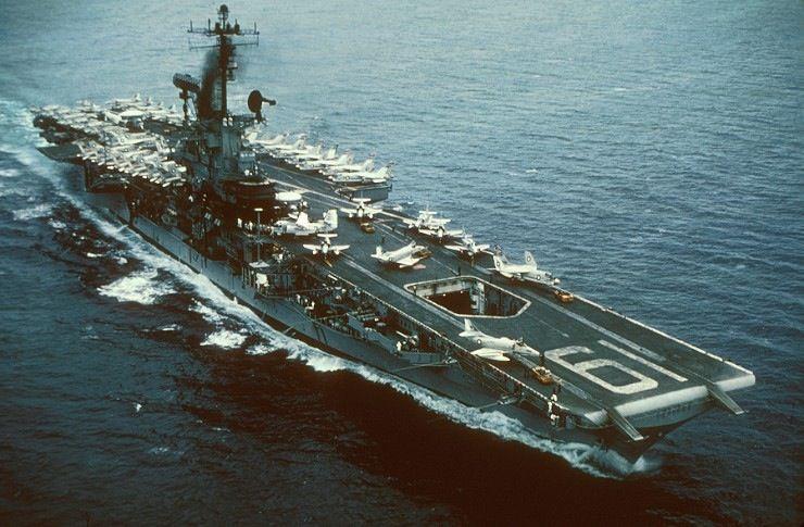 USS Hancock Aircraft Carrier