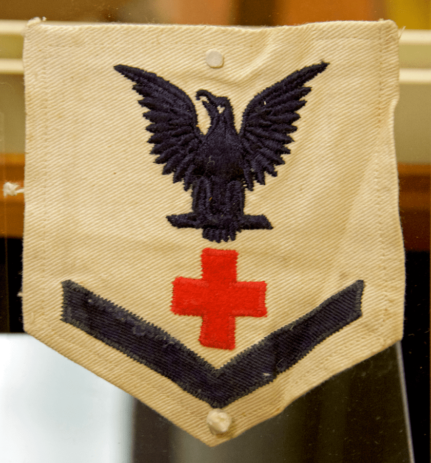 Naval Insignia for Pharmacist's Mate First Class