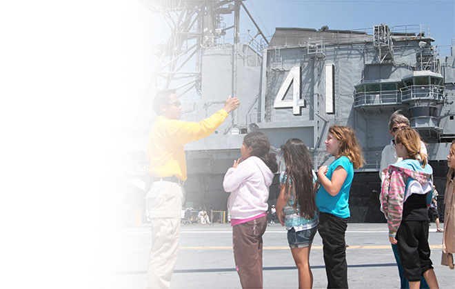 USS Midway Education