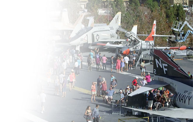 USS Midway Exhibits and Activities